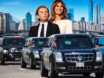 Melania Trump Won't Create Gridlock to Get Barron to School