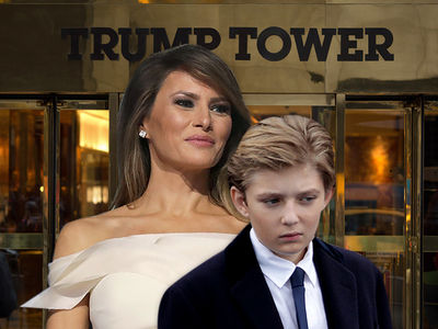 Melania Trump, Oops, I Thought Barron Had School Today!