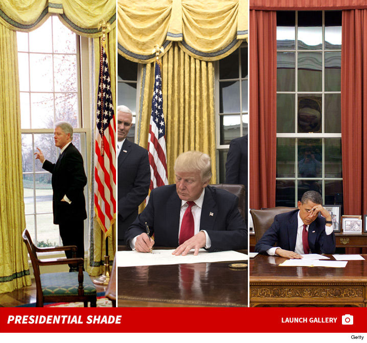 office curtains. Donald Trump Chooses Same Curtains For Oval Office As Hillary Clinton