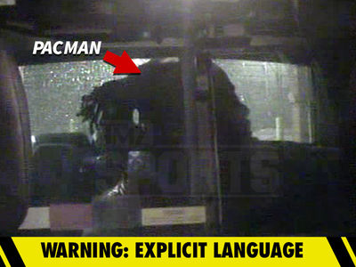 Pacman Jones Arrest Video ... Told Cop 'Suck My D***, I Hope You Die' (VIDEO)