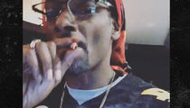 Snoop Dogg Using Weed to Cope with Steelers Loss ... Shocker (VIDEO)
