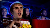 Justin Bieber Does Bachelor Night at the Movies