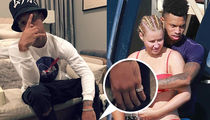 Iggy Azalea's New BF Taunting French Montana with Her Bling (PHOTO)