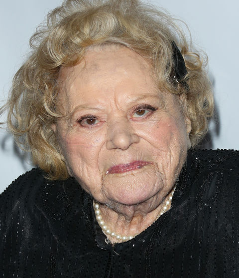 Rose Marie -- now 93 years old -- was photographed back in 2015 looking rosie!