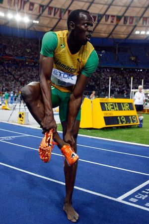 Usain Bolt -- On the Track