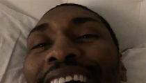 Metta World Peace Cheers Against His Kid In Favor Of Shaq's Son (VIDEO)