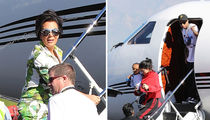 The Kardashians Take a Ride on Dan Bilzerian's Dirty Bird (PHOTOS)