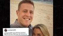 J.J. Watt Goes 'Social Media' Public with Soccer Star Girlfriend (PHOTO)
