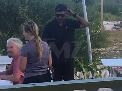 Prez Obama Hat to the Back, Still On Island Time (PHOTO GALLERY)