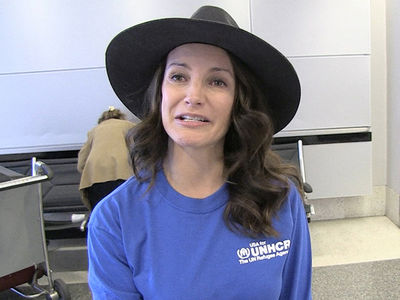 Kristin Davis Breaks Down on 'Muslim Ban,' I'm with Sen. Schumer (VIDEO)