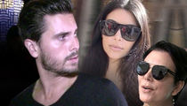 Scott Disick Bolted From Costa Rica After Blowout Fight with Kris & Kim