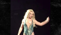 Britney Spears Has Vegas Nip Slip (VIDEO)