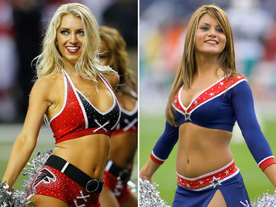 Falcons vs. Patriots Cheerleaders -- Who'd You Rather?! (PHOTO GALLERY)