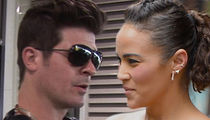 Robin Thicke Spends Time with Son Again