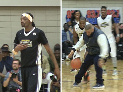 Snoop Dogg, DJ Khaled, Ja Rule Bring It For Super Bowl Celeb B-ball Game