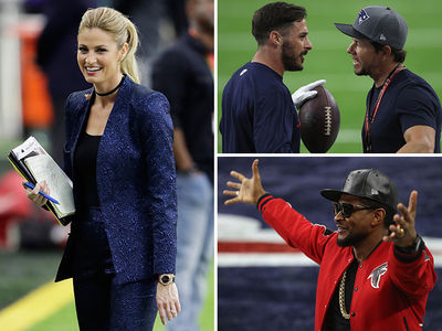 Celebs Take The Field For Super Bowl LI (PHOTO GALLERY)