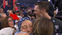 Tom Brady Emotional Super Bowl Celebration with Sick Mom (VIDEO)