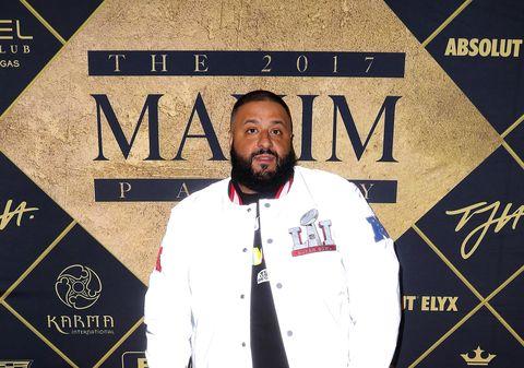 DJ Khaled at the Maxim Party