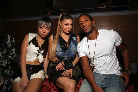 Fergi and Ludacris at the Maxim Party
