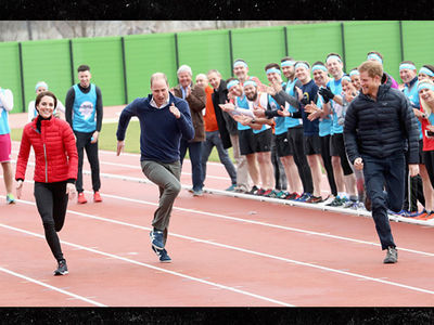 Prince William, Harry & Kate Do a Royal Race Off (PHOTO)