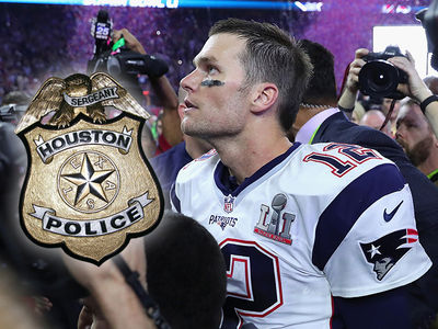 Tom Brady Missing Jersey -- No Police Report Filed ... Yet