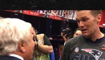 Tom Brady to Robert Kraft: 'Somebody Stole My Game Jersey' (VIDEO)