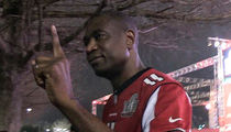 Dikembe Mutombo Gives FINGER WAG to Falcons ... We Blew It (VIDEO)