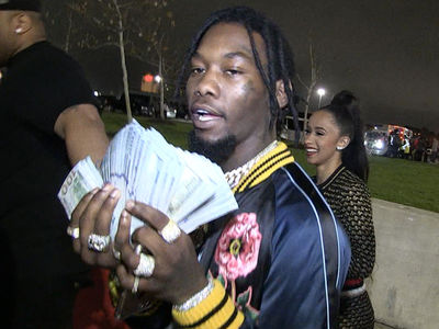 Offset from Migos Lost $50k on Falcons ... Rebounds With Hot Reality Star (VIDEO)