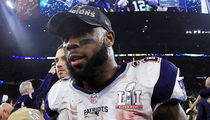 Patriots Hero James White Lost Game-Winning Football ... Seriously (VIDEO)
