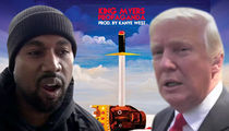 Kanye West Denies Producing Rapper's Donald Trump Diss Track (AUDIO)