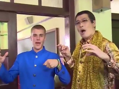 Justin Bieber Says Konnichiwa to Japan for New Ad (VIDEO)