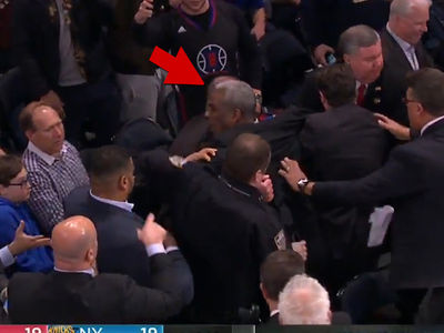 Charles Oakley Hauled Out of Knicks Game, Arrested (VIDEO)