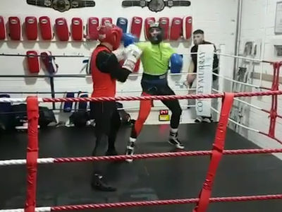Conor McGregor Hits the Boxing Gym ... Watch Me Stick & Move! (VIDEO)
