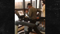 PGA Legend Gary Player: Faster Than You At 81 ... Burning Up The Treadmill (VIDEO)