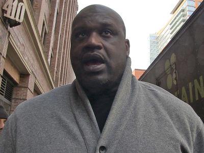 Shaq: Tom Brady's Jersey Steal Was Inside Job ... Trust Me, I'm a Cop!! (VIDEO)