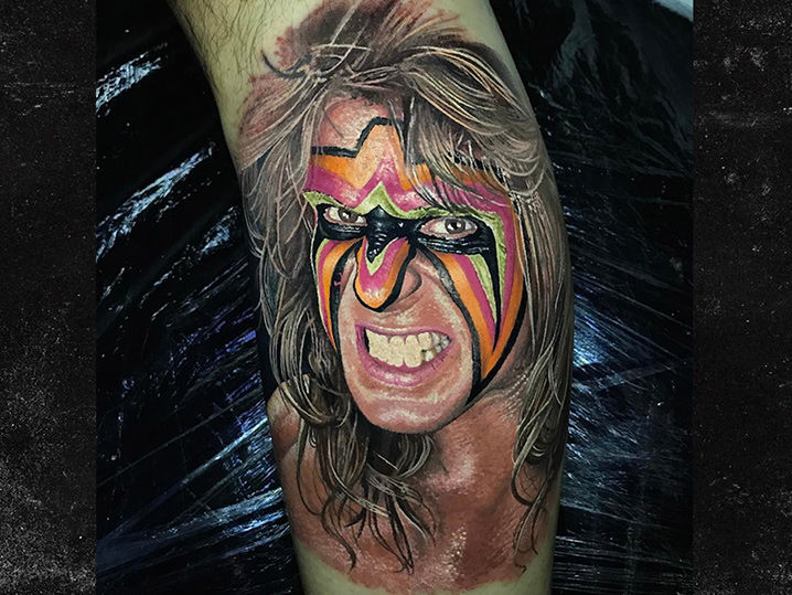 Wrestling Fan Gets Incredibly Realistic Ultimate Warrior ...