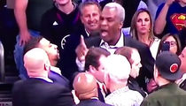 Michael Rapaport LIP-READS Charles Oakley Fight ... 'Whatchu Wanna Do Bitch Ass?' (VIDEO)