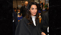 Amal Clooney Gets Maternity Protection in Her Law Office