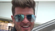Robin Thicke Says He Loves Fatherhood, Wants More Kids (VIDEO)