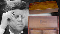 Smoking Deal on JFK Cigar Box (PHOTO GALLERY)