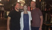 Matt Stafford Takes Couples Trip to Mexico ... Without Pregnant Wife (PHOTO)