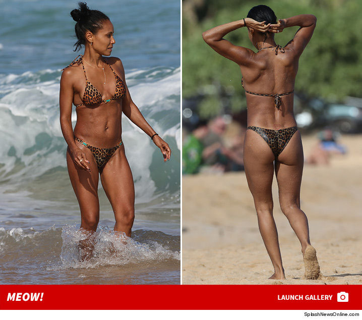 Jada pinkett smith bikini
