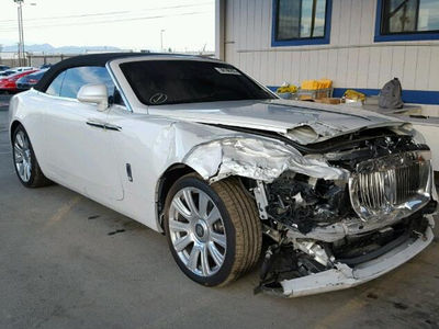 Kris Jenner's Totaled Rolls-Royce Up For Sale (PHOTOS)