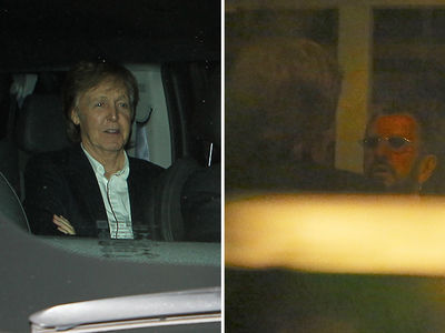 Paul McCartney and Ringo Starr at Most Legendary Dinner Party (PHOTO GALLERY + VIDEOS)