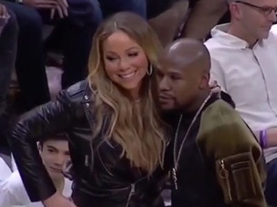 Floyd Mayweather & Mariah Carey -- Divas Live! (VIDEOS + PHOTO)