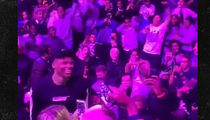 Russell Westbrook Crashes Jordan H.S. Basketball Tourney ... Fans Lose Their Minds!! (VIDEO)
