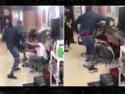 Boxer Yusaf Mack Beats Down Twitter Troll In Barber Shop ... After Gay Attacks (VIDEO)