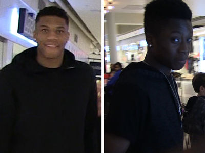 Giannis Antetokounmpo: My 15-Year-Old Brother Is Better Than Me (VIDEO)