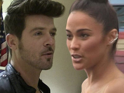 Robin Thicke, Paula Patton Cries Technical Foul in Custody War