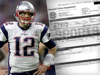 Tom Brady Police Report ... Missing Jersey Valued at $500,000! (DOCUMENT)
